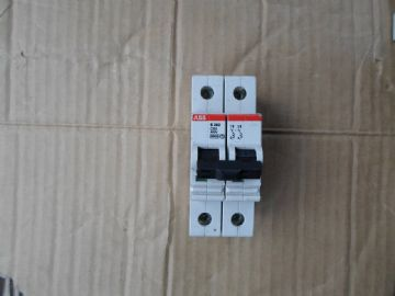 ABB S282 C80 80 AMP 6KA DOUBLE POLE MCB CIRCUIT BREAKER